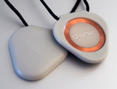 Q-Link Sleek Easy Gray SRT-3 Pendant