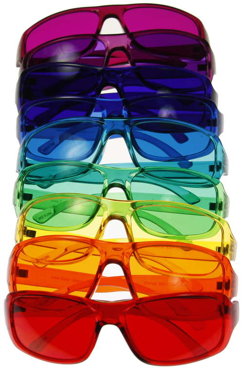Color Therapy Glasses Set - Kids Style