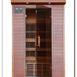 2 Person Cedar Far Infrared Sauna With Carbon Heaters