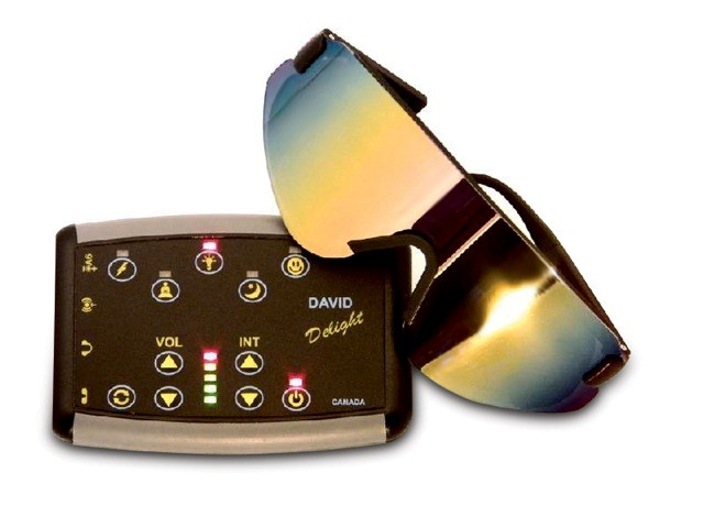 David Delight Light Therapy Sound Machine