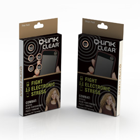 Q-Link Clear Mini Pocket Wellness Button SRT-3