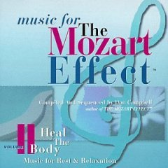 Music For The Mozart Effect, Volume 2  Heal the Body CD