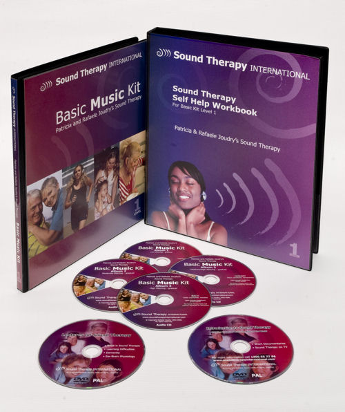 Patricia Joudry Sound Therapy Basic Music Kit