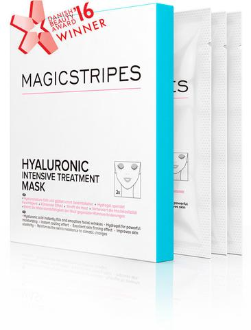 Magicstripes - PACK OF 3 Hyaluronic Masks