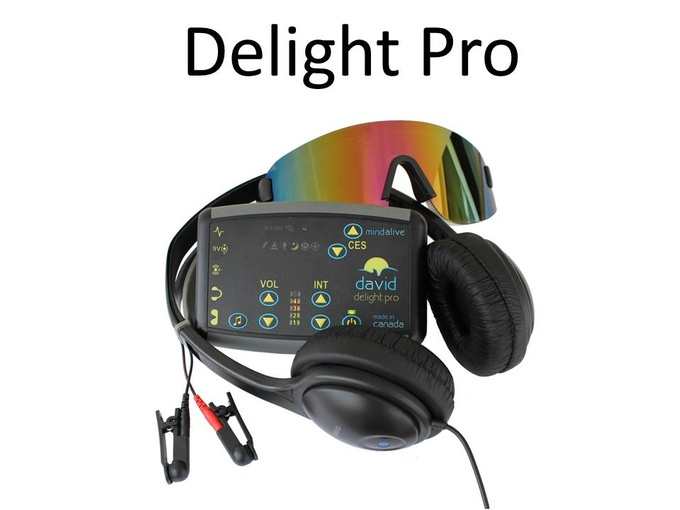 David Delight Pro Light Therapy and CES Sound Machine