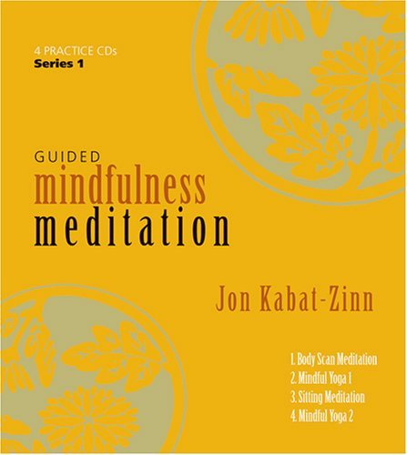 Guided Mindfulness Meditation 4 CD Set + Study Guide