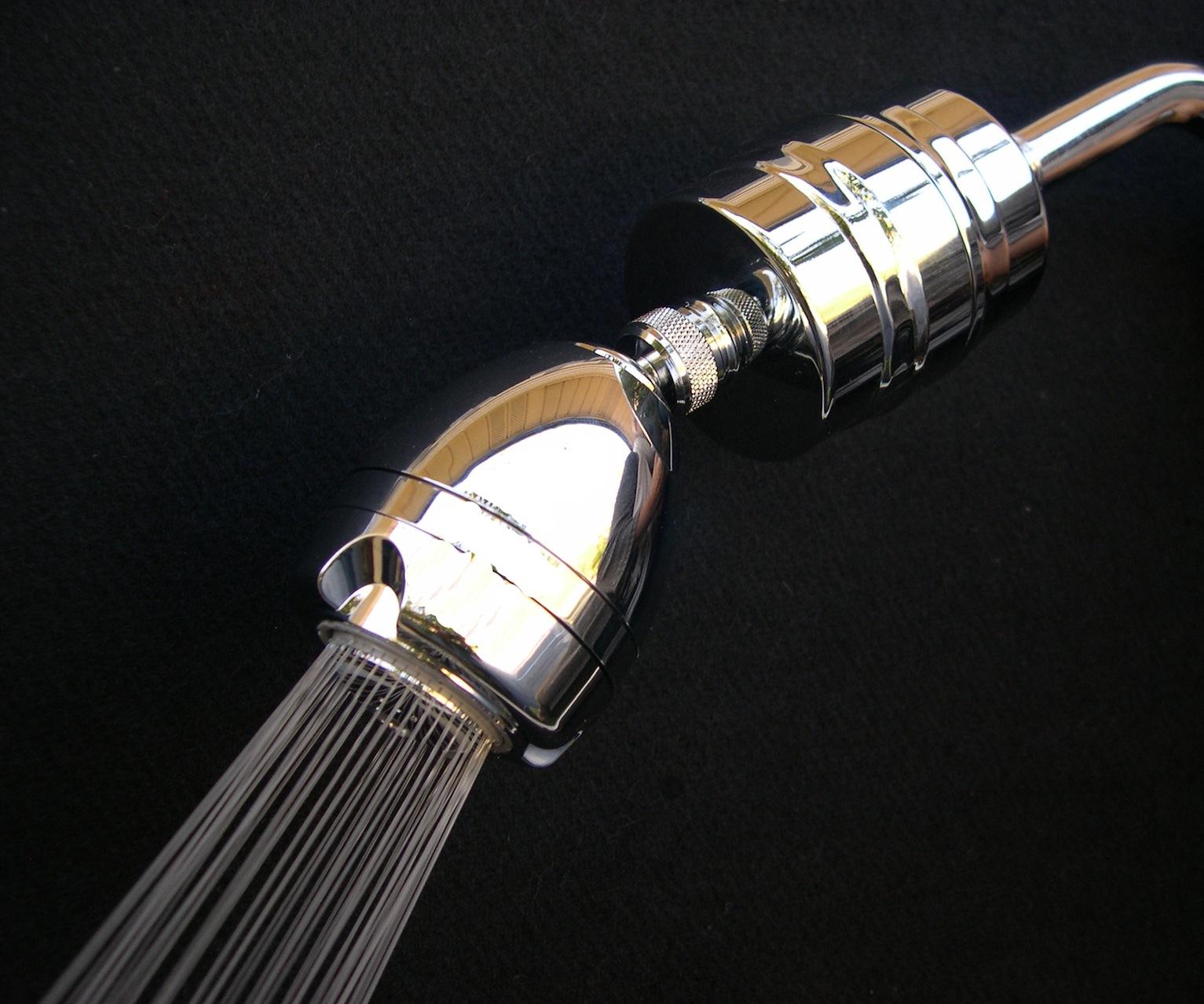 april shower supreme 3 spray shower filter. Black Bedroom Furniture Sets. Home Design Ideas