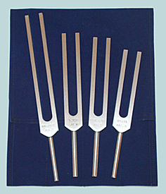 Energy Practitioner Tuning Fork Set