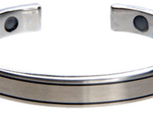 Q-Link Stainless Steel Cuff SRT-3 Bracelet