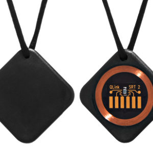 Q-Link Classic Black SRT-2 Pendant
