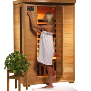 2 Person Far Infrared Sauna With Carbon Heaters