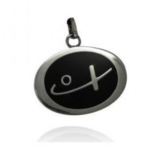 Shuzi Black Filled EMF Pendant