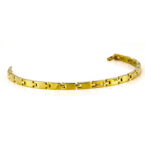 Shuzi Gold Link EMF Bracelet