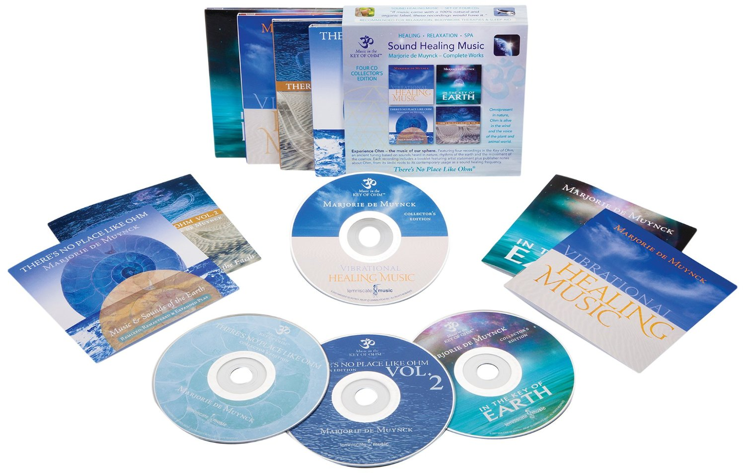 Sound Healing Music Collector's Edition CD Box Set