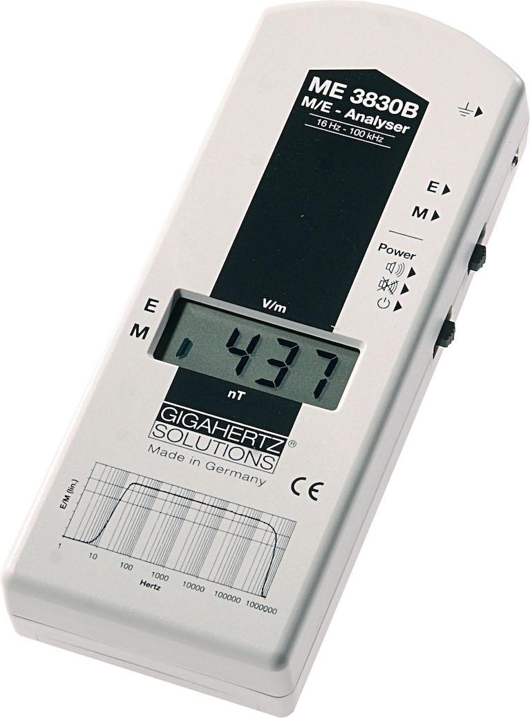 GigaHertz Solutions ME3830B Extended Range EMF Meter / Gauss Meter