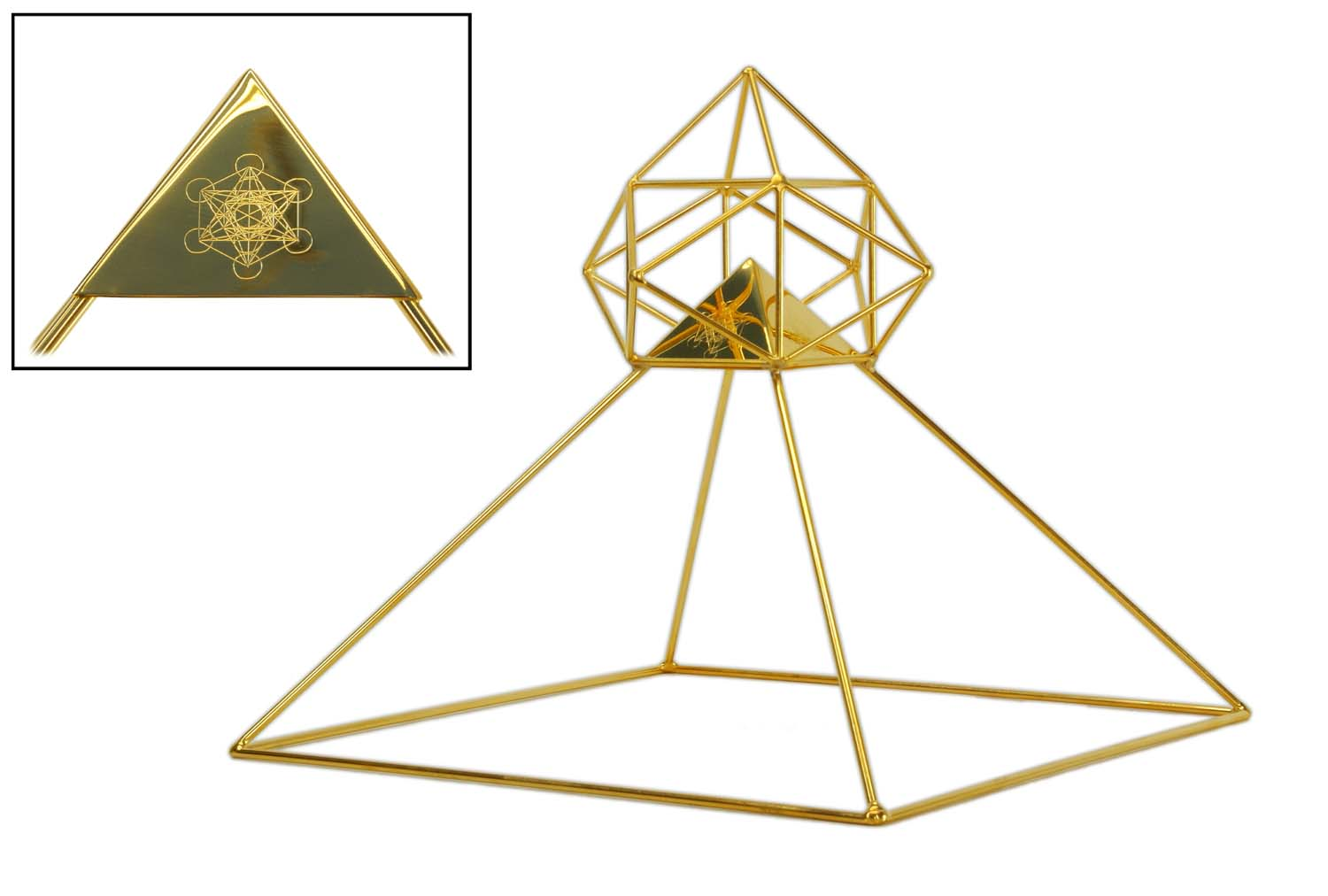Buddha Maitreya Solar Ascension Head Pyramid