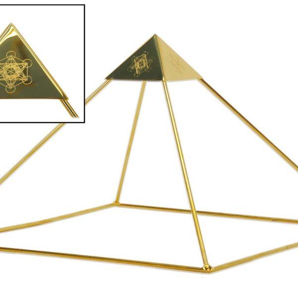 Buddha Maitreya Ascension Head Pyramid