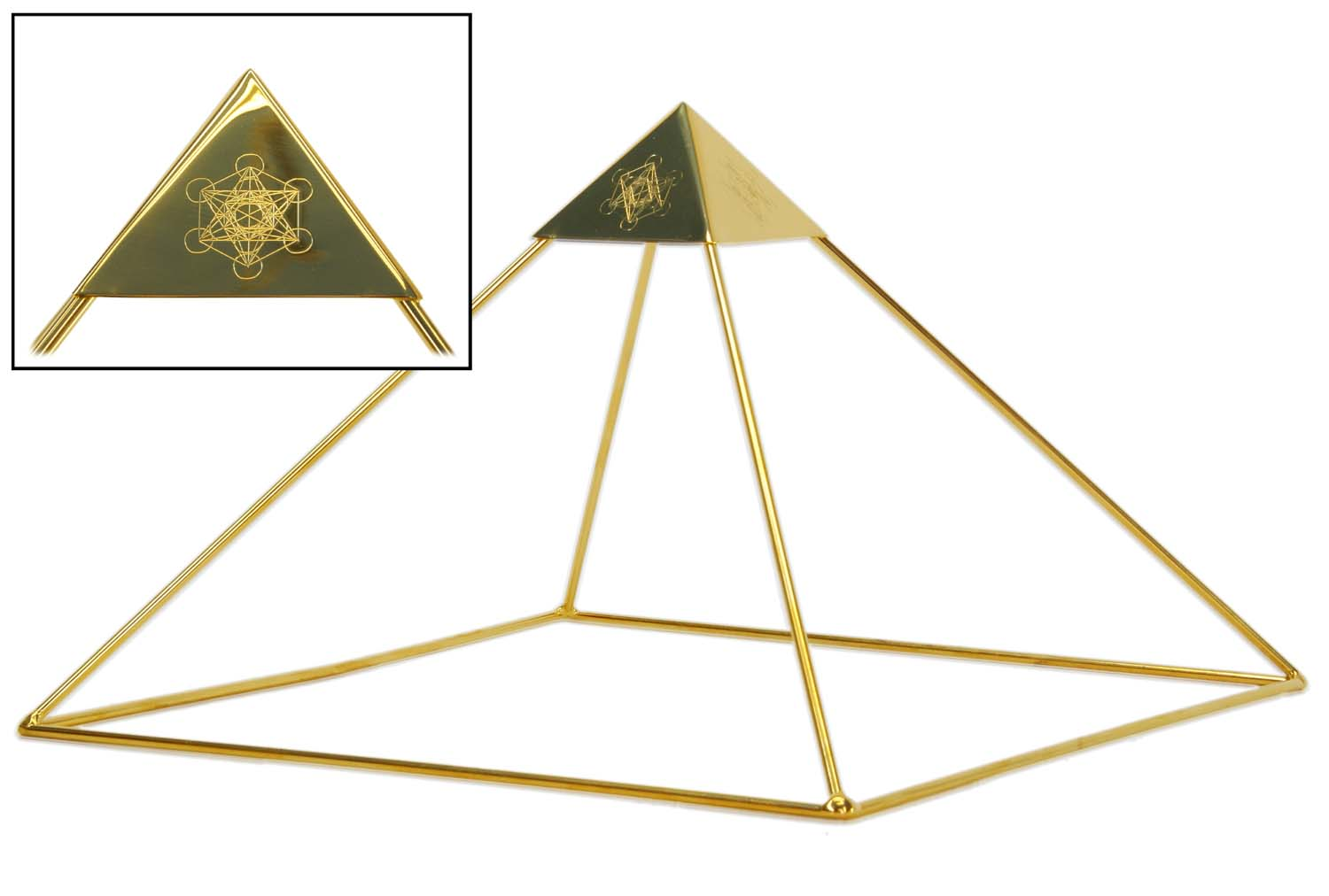 Buddha Maitreya Ascension Head Pyramid