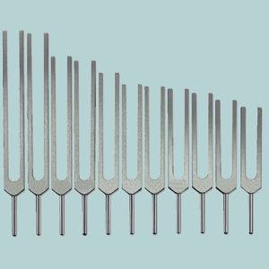 Mineral Tuning Fork Set