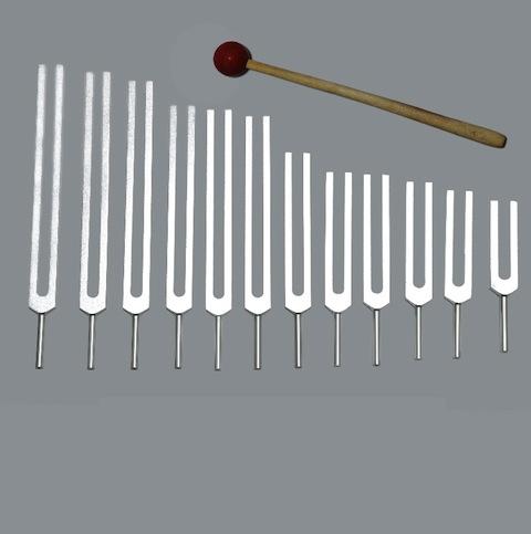 Kabbalah Tree Of Life Tuning Forks - Set of 12