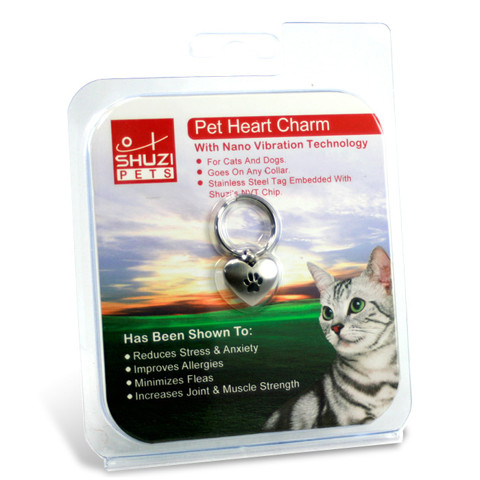 Shuzi Heart Pendant for EMF Protection For Your Pet