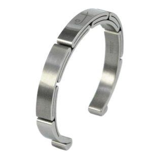 Shuzi Cuff Titanium EMF Bracelet - Mens