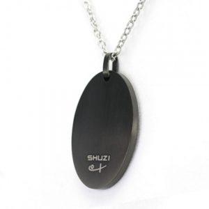 Shuzi Bold Black Pendant