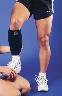 Magnetic Shin Support