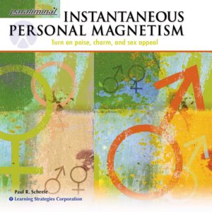 Instantaneous Personal Magnetism Paraliminal CD