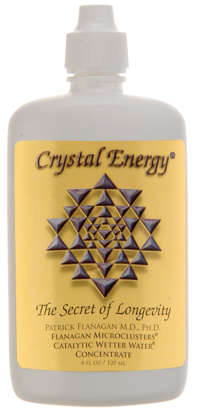 """Crystal Energy Original MicroCluster """"Wetter Water"""" Concentrate"""