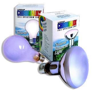 Full Spectrum Light Bulb 75 Watt