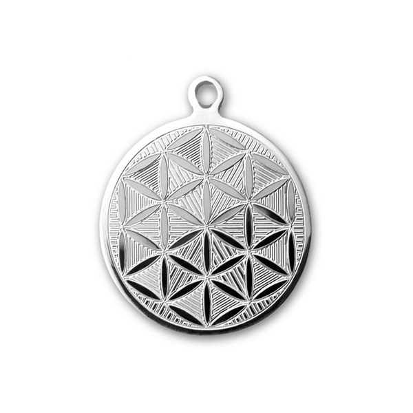 Flower of life sacred geometry pendant aloadofball Gallery
