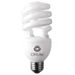 Ottlite Full Spectrum 20W Bulb Compact Fluorescentt - 75W equivalent