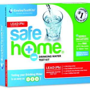 "Safe Home® ""LEAD"" Water Test Kit"
