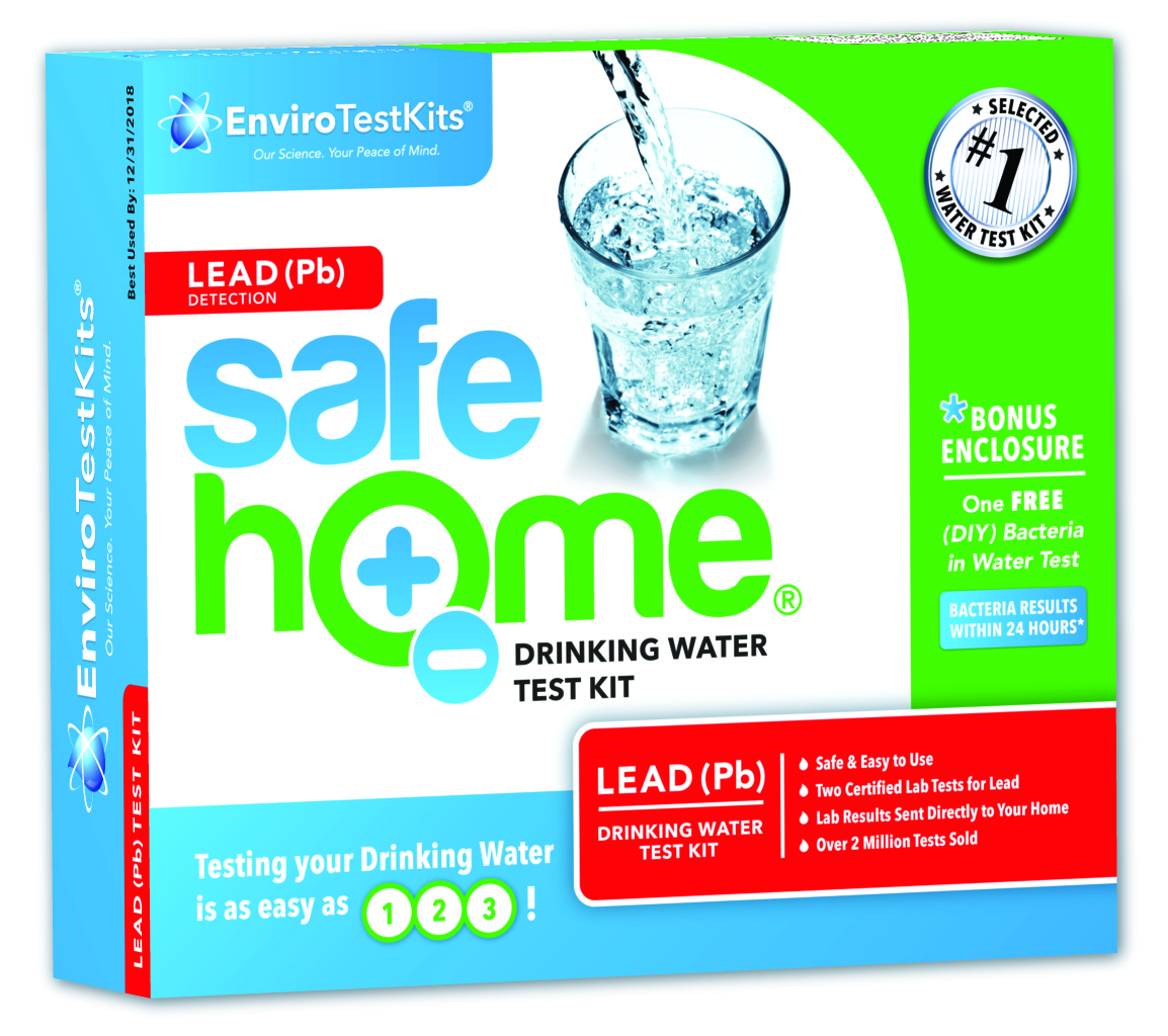 """Safe Home® """"LEAD"""" Water Test Kit"""