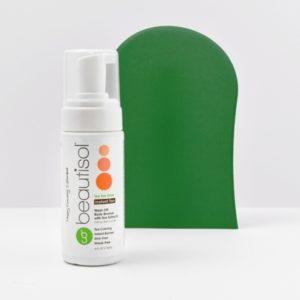 BEAUTISOL Basic Bronzing System: Mousse Formula (Tea Tan Glow + App Mitt)