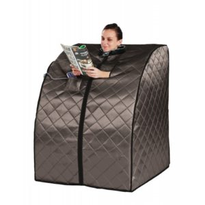 Black Portable Sauna