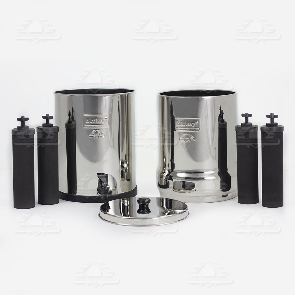Big Berkey 174 System 2 25 Gal With 4 Filters Tools For