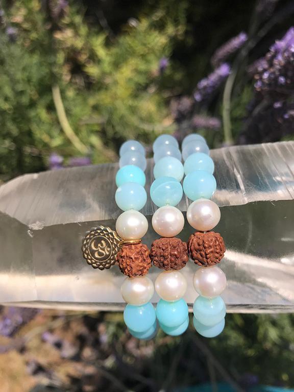 High Chi Power Bracelet - Atlantis Blue Collection - Opal